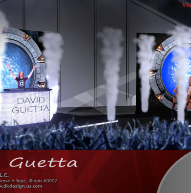 David Guetta Grammys Creative Direction